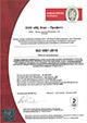 Сертификат соответствия стандартам системы качества ISO 9001:2008